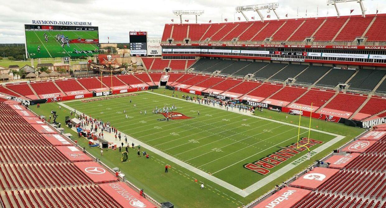 Raymond James Stadium i Tampa, Florida.