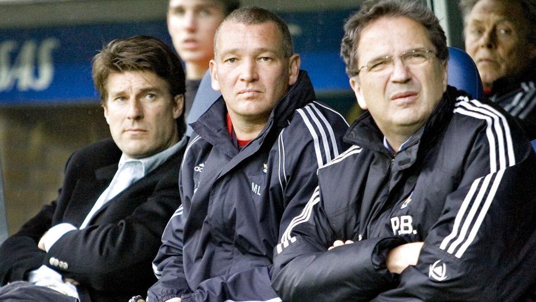 Michael Laudrup, John Faxe Jensen og Per Bjerregaard tilbage i 2005.