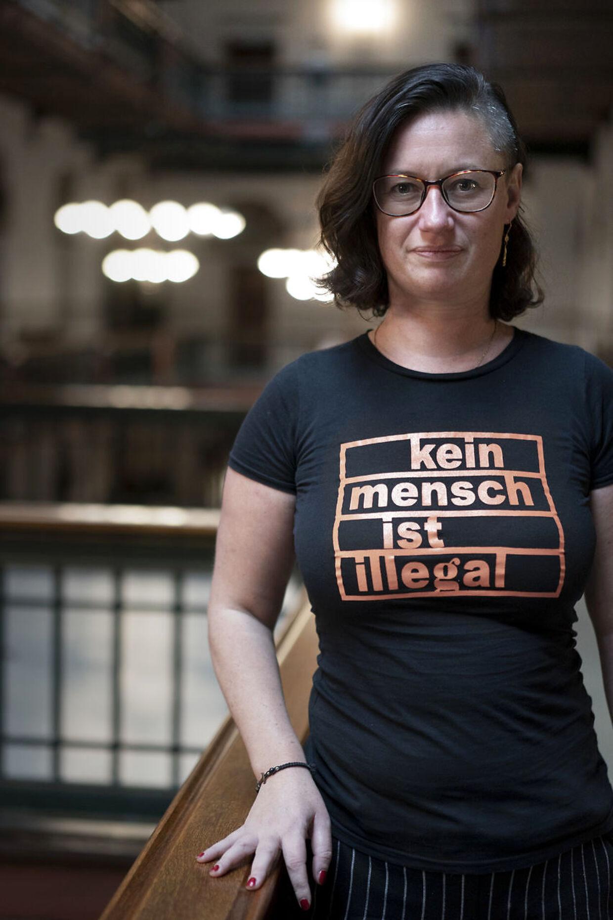 Ninna Hedeager Olsen: »Der lå ingen trusler i det. Men alligevel er det over stregen og udtryk for dårlig humor.«