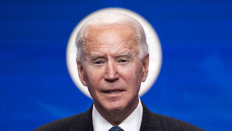 USA's præsident Joe Biden.
