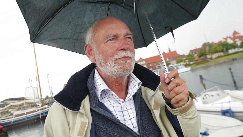 Jørgen Flindt Pedersen fotograferet i Kerteminde i 2003.