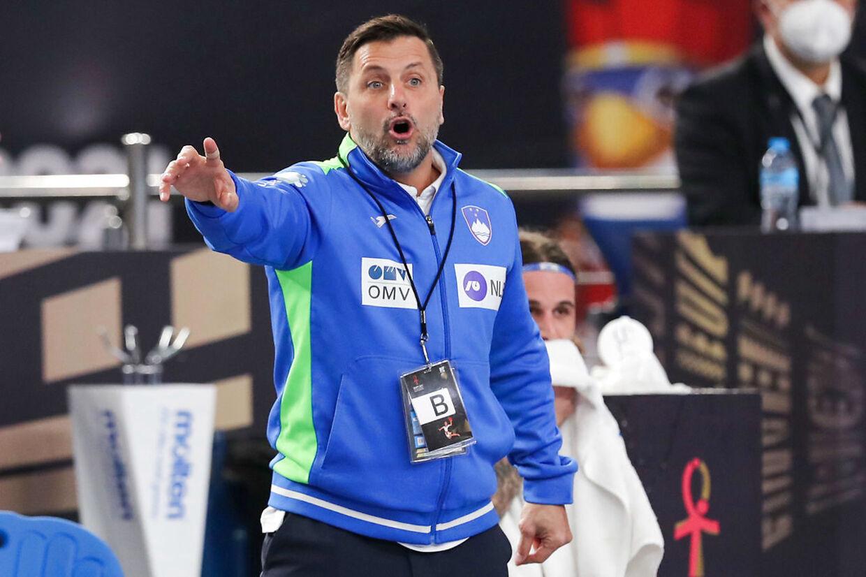 Sloveniens landstræner Ljubomir Vranjes