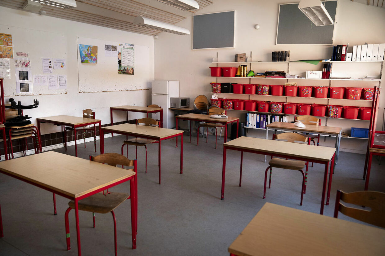 Tomt klasselokale