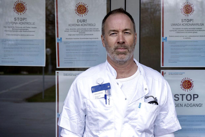 (ARKIV) Thomas Benfield er professor i smitsomme sygdomme og overlæge ved Hvidovre Hospital. (Foto: Linda Kastrup/Ritzau Scanpix)