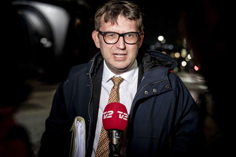Troels Lund Poulsen (V) har forhandlet tæt med regeringen de seneste to uger om erstatningen til minkavlerne. (Foto: Mads Claus Rasmussen/Ritzau Scanpix)