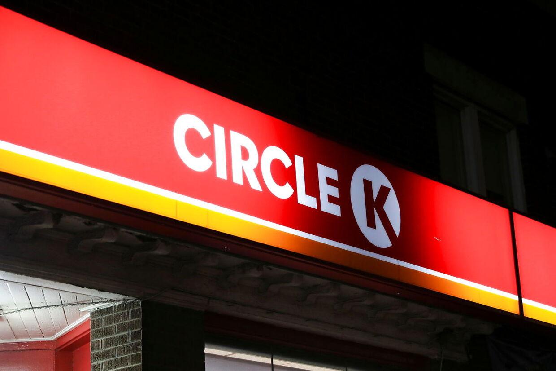 Arkivfoto. En kvindelig ekspedienten på Circle K i Herning udløste tidligt onsdag sin overfaldsalarm.