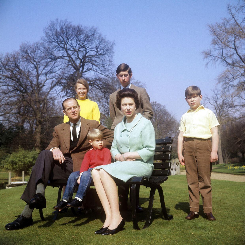 Her den kongelige familie, som den så ud, da 'Royal Family' blevet optaget i slutningen af 60erne.