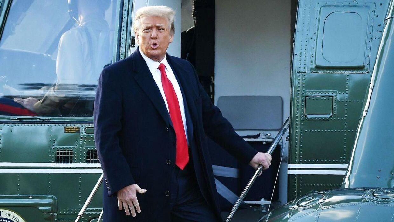 Arkivfoto af Donald Trump.