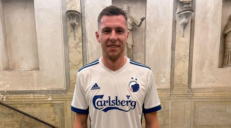 Lukas Lerager skiftede til FC København fra Genoa under transfervinduets sidste dag.