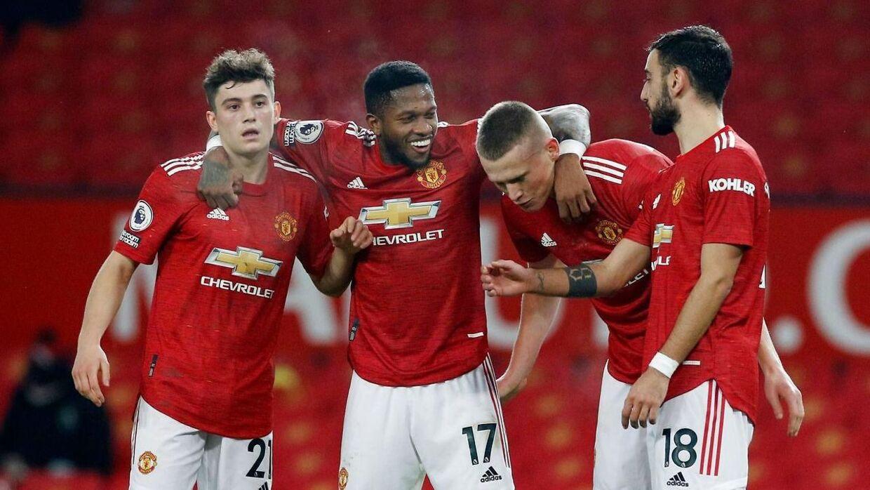 Manchester United vandt med hele 9-0 over Southampton.