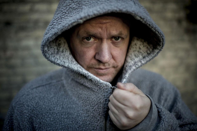 """Portræt af Anders Matthesen, der er aktuel med filmatiseringen af bogen """"Ternet Ninja."""" """"Ternet Ninja"""" er den mest sete danske biograffilm i dette århundrede. Det viser tal fra Det Danske Filminstitut. (Foto: Asger Ladefoged/Scanpix 2019)"""