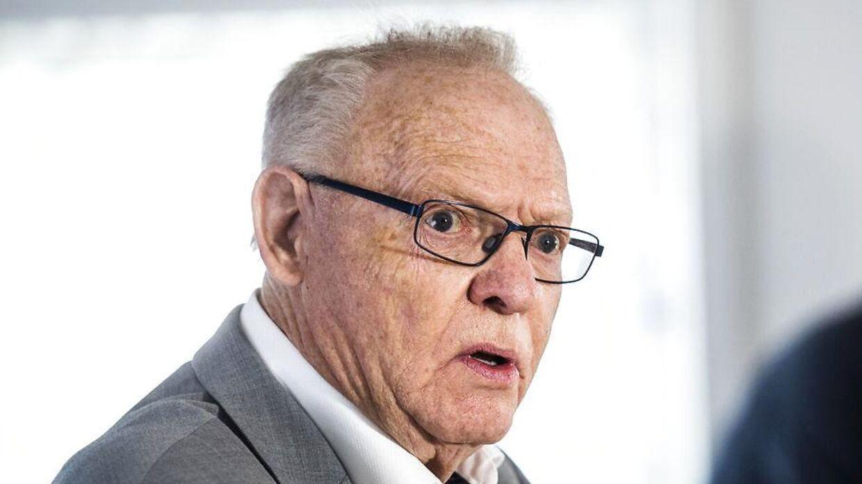 Mogens Palle er i konflikt med stjernebokseren Oliver Meng. (Foto: Ólafur Steinar Gestsson/Scanpix 2016)