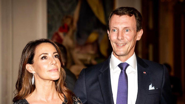 Prinsesse Marie og prins Joachim sammen.