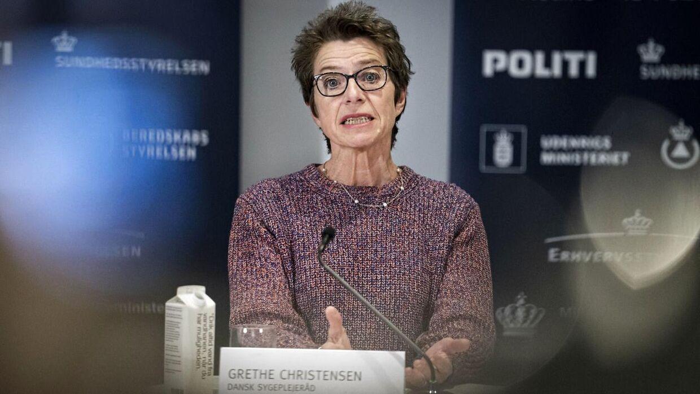 Formand for Dansk Sygeplejeråd Grete Christensen