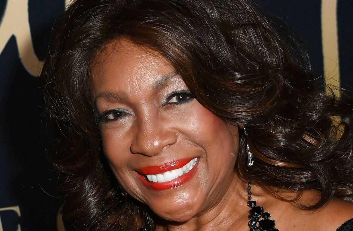 This November 11, 2019 picture shows singer Mary Wilson, from The Supremes, arrive for the Ryan Gordy Foundation 60 Years of Motown Celebration at the Waldorf Astoria in Beverly Hills. - The death of singer Mary Wilson, co-founder of the trio Supremes, has just been announced by her publicist Jay Schwartz. She died Monday night, February 8, at her home in Las Vegas. She was 76 years old. (Photo by Mark RALSTON / AFP)