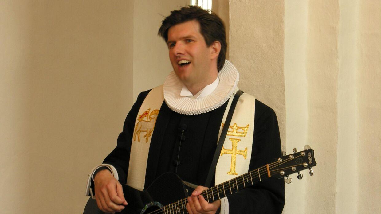 Arkivfoto. Her ses den tiltalte præst.
