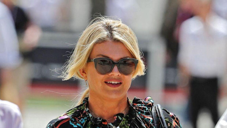 Corina Schumacher har holdt sig ude af mediernes søgelys siden ulykken i 2023. (KARIM SAHIB / AFP)