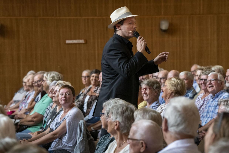 Jens Jacob Tychsen med Århus Jazz Orchestra i 2019.