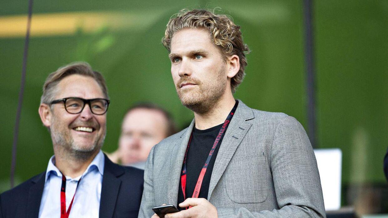 Rasmus Ankersen er ved siden af jobbet i det engelske bestyrelsesformand i FC Midtjylland.