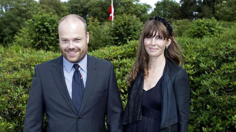 Anders Holch Povlsen med sin kone, Anne Storm Pedersen.