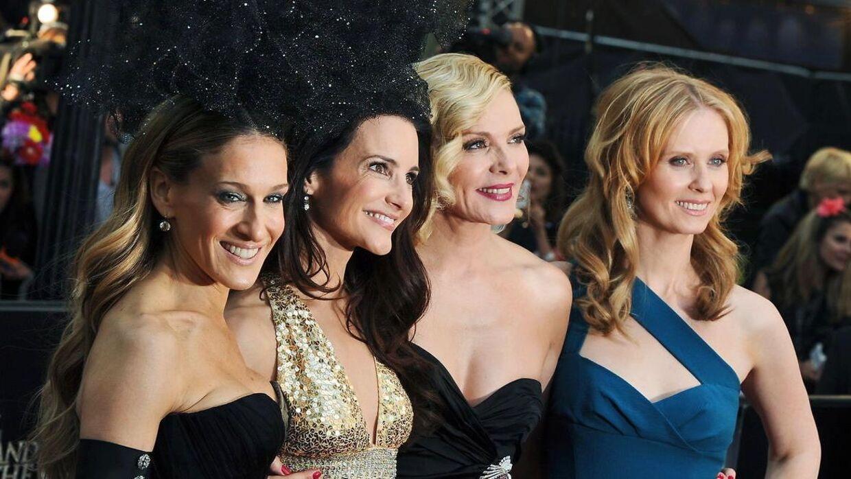 'Sex and the City'-stjerne, som vi alle husker dem. Fra venstre: Sarah Jessica Parker, Kristin Davis, Kim Cattrall og Cynthia Nixon i 2010.