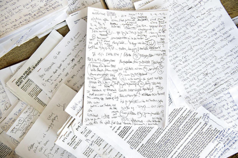 Kurt Thyboe holder gang i hjernen ved at skrive. Han arbejder blandt andet på en ny selvbiografi.