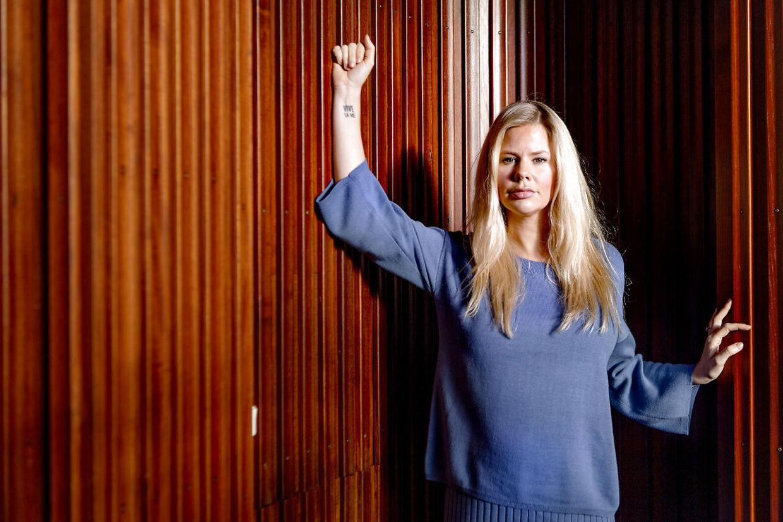 Julie Zangenberg, skuespillerinde og forretningskvinde.