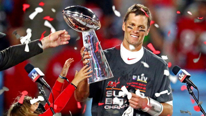 Tom Brady med endnu et trofæ.