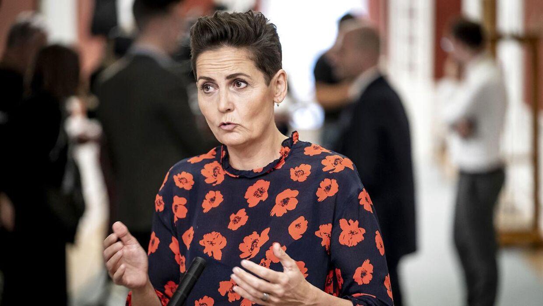 Formanden for SF, Pia Olsen Dyhr.
