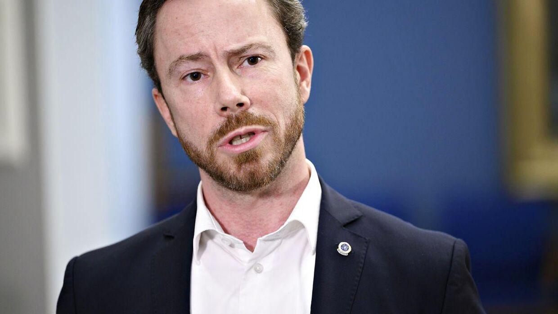 Venstres formand Jakob Ellemann-Jensen.