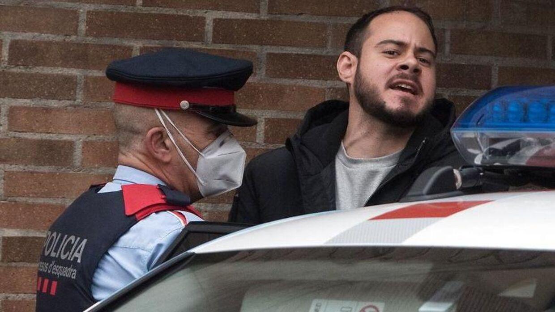 Pablo Hasel blev anholdt og fængslet tirsdag.