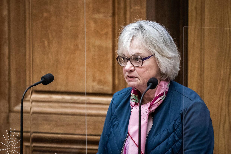 Pia Kjærsgaard mener, at samarbejdet med Venstre svækkes efter den nye aftale.