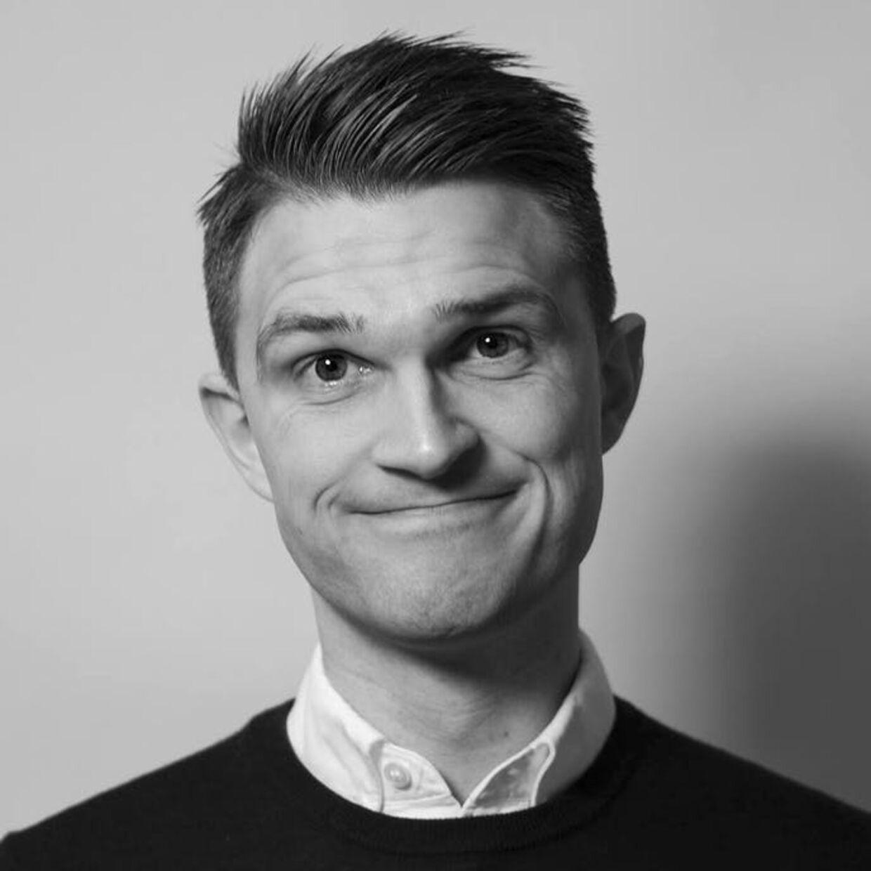 Instruktør og manuskriptforfatter Morten Urup er bestemt ikke tilfreds med Anders Morgenthaler.