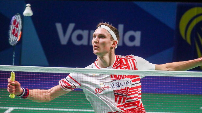 Viktor Axelsen bragte planmæssigt Danmark i front, inden det også blev til dansk sejr i damesingle og herredouble.