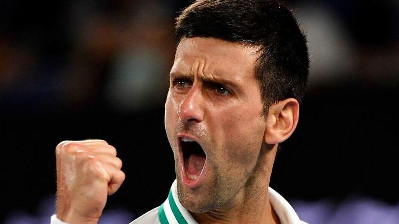 Novak Djokovic har søndag vundet Australian Open.