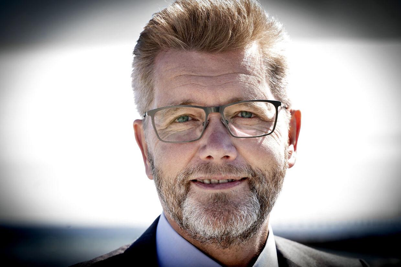 Københavns daværende overborgmester, Frank Jensen, i Dragør tirsdag 23. juni 2020.