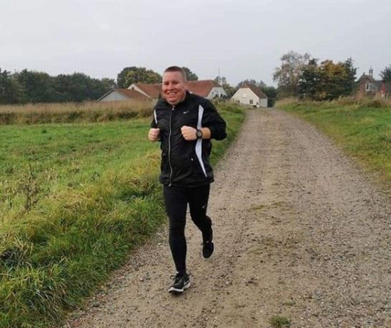 Jesper Steensig har brugt de seneste måneder på at løbe tre-fire gange om ugen.