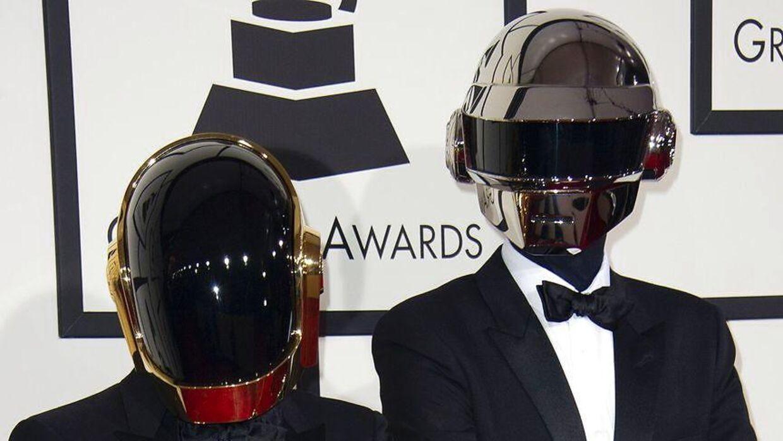 Her ses Daft Punk i 2016.
