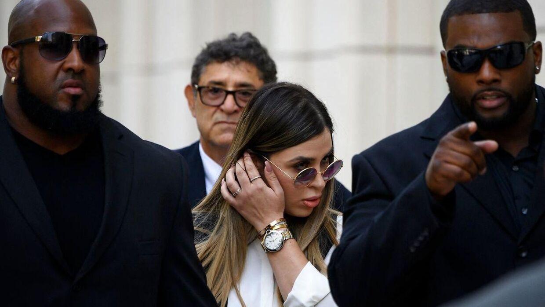 Emma Coronel Aispuro har et sæt tvillingedøtre med Joaquin 'El Chapo' Guzman.