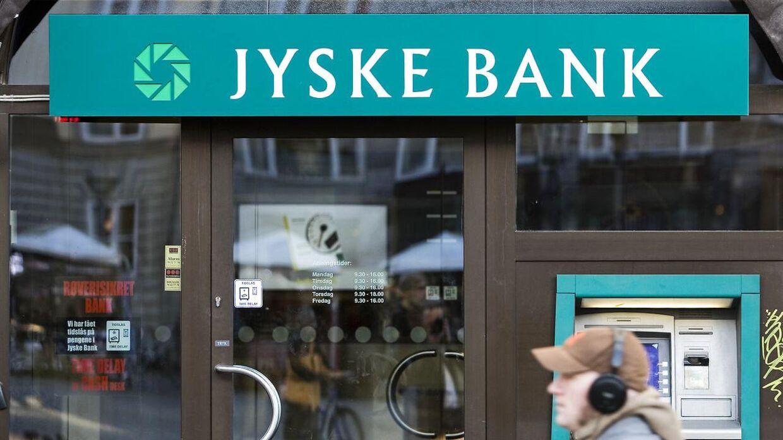 Jyske Banks overskud er faldet markant.