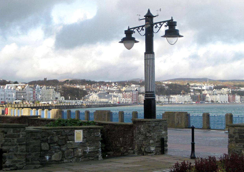 Promaden i Douglas på Isle of Man.