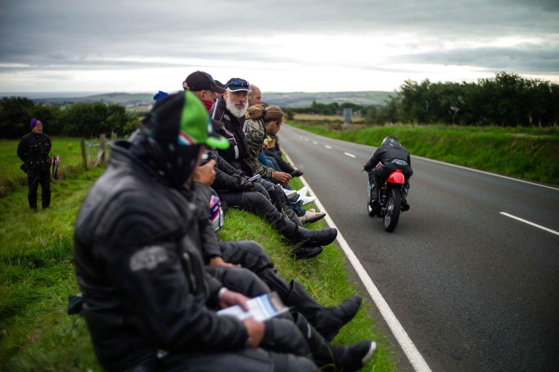 Øen er særligt kendt for de motorcykelløb, der køres hvert år.