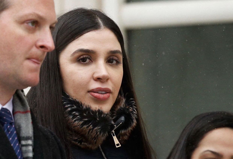Emma Coronel Aispuro er blevet anholdt ved Dulles lufthavnen i Washington DC.