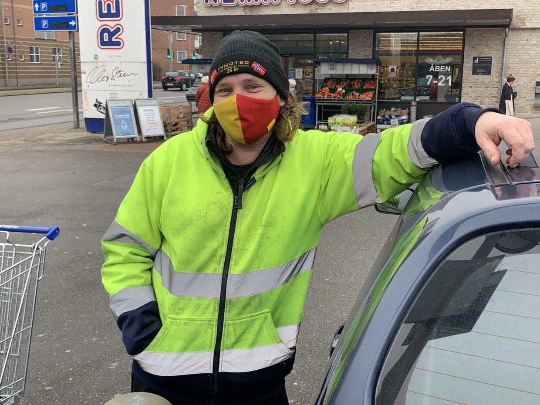 Michael Holt fra Sjølund ved Kolding.Foto: Jens Anton Havskov