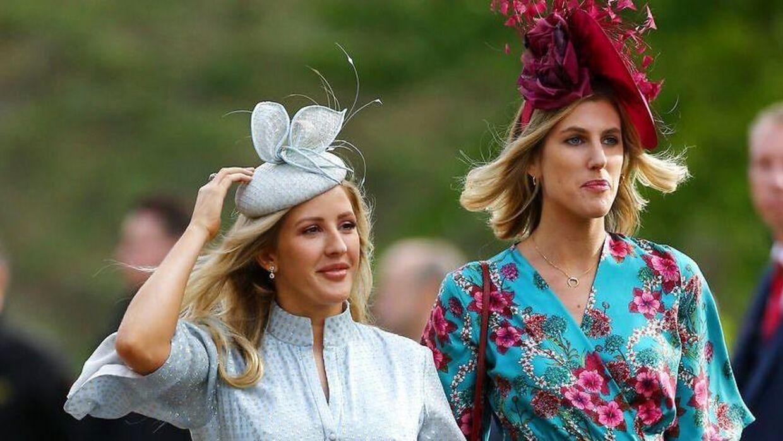 Ellie Goulding er gode venner med den britiske princess Eugenie og deltog blandt andet i hendes bryllup i 2018.