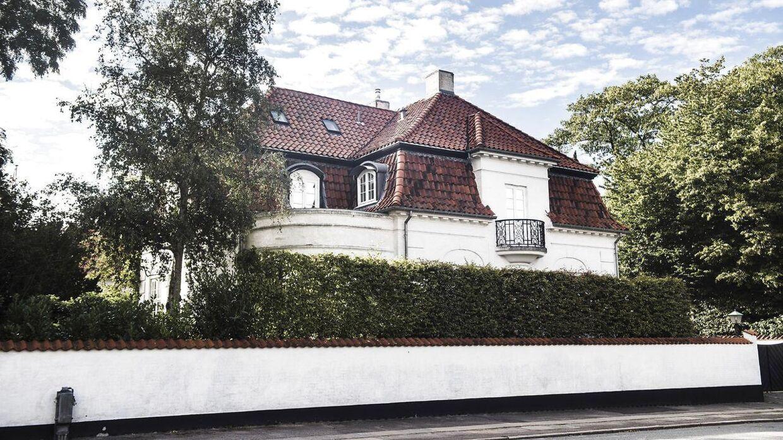Grevinden boede i over ti år i denne villa på Svanemøllevej.