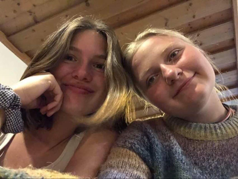 Anna Lehmann (tv.) og Laura Tranum Kristensen (th.) fra Adventure Efterskole i Broager.
