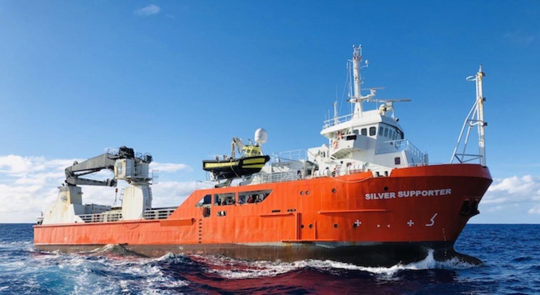 Vidam Perevertilov tilbragte 14 timer i vandet, efter han faldt over bord fra skibet 'Silver Supporter' ude i Stillehavet. Han reddede livet ved at klynge sig til en efterladt fiskebøje.