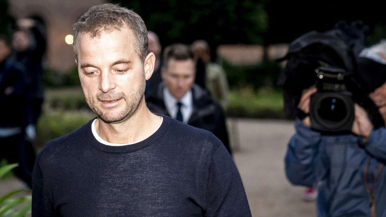 Det var efter et gruppemøde i Den Sorte Diamant 7. oktober, at Morten Østergaard meldte sin afgang. Foto: Mads Claus Rasmussen/Ritzau Scanpix