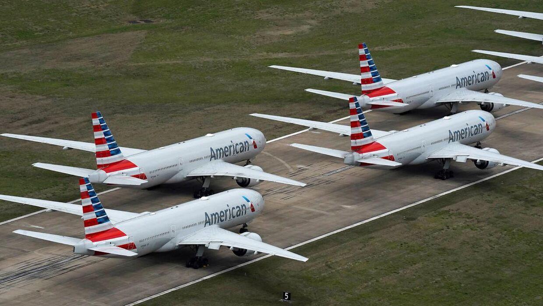 Et fly fra American Airlines spottede et mystisk objekt på en flyvetur i søndags. (Arkivfoto)